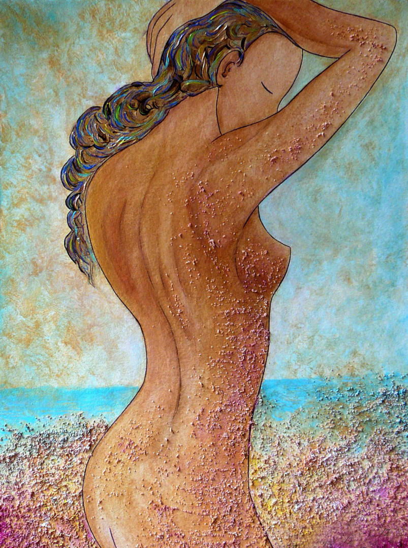 """Gioia Albano - """"Colors and Sand"""" Divine nude collection"""