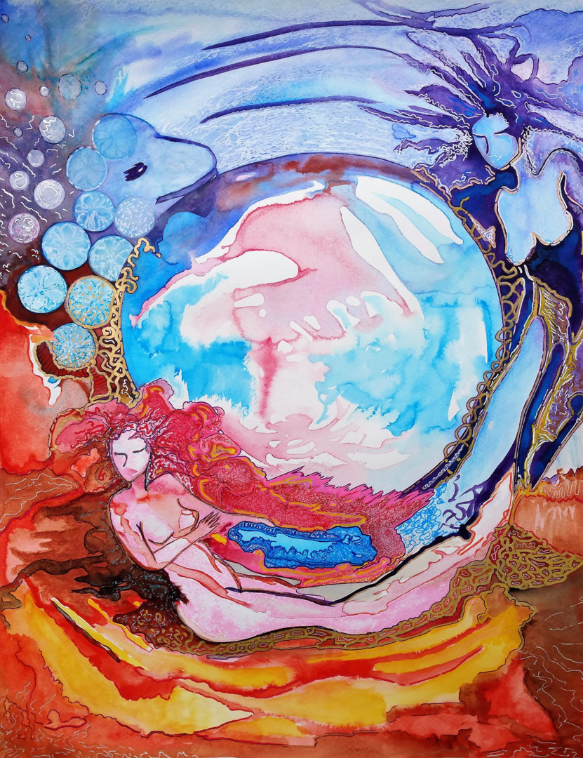 Gioia Albano - Between two worlds #artistsupportpledge