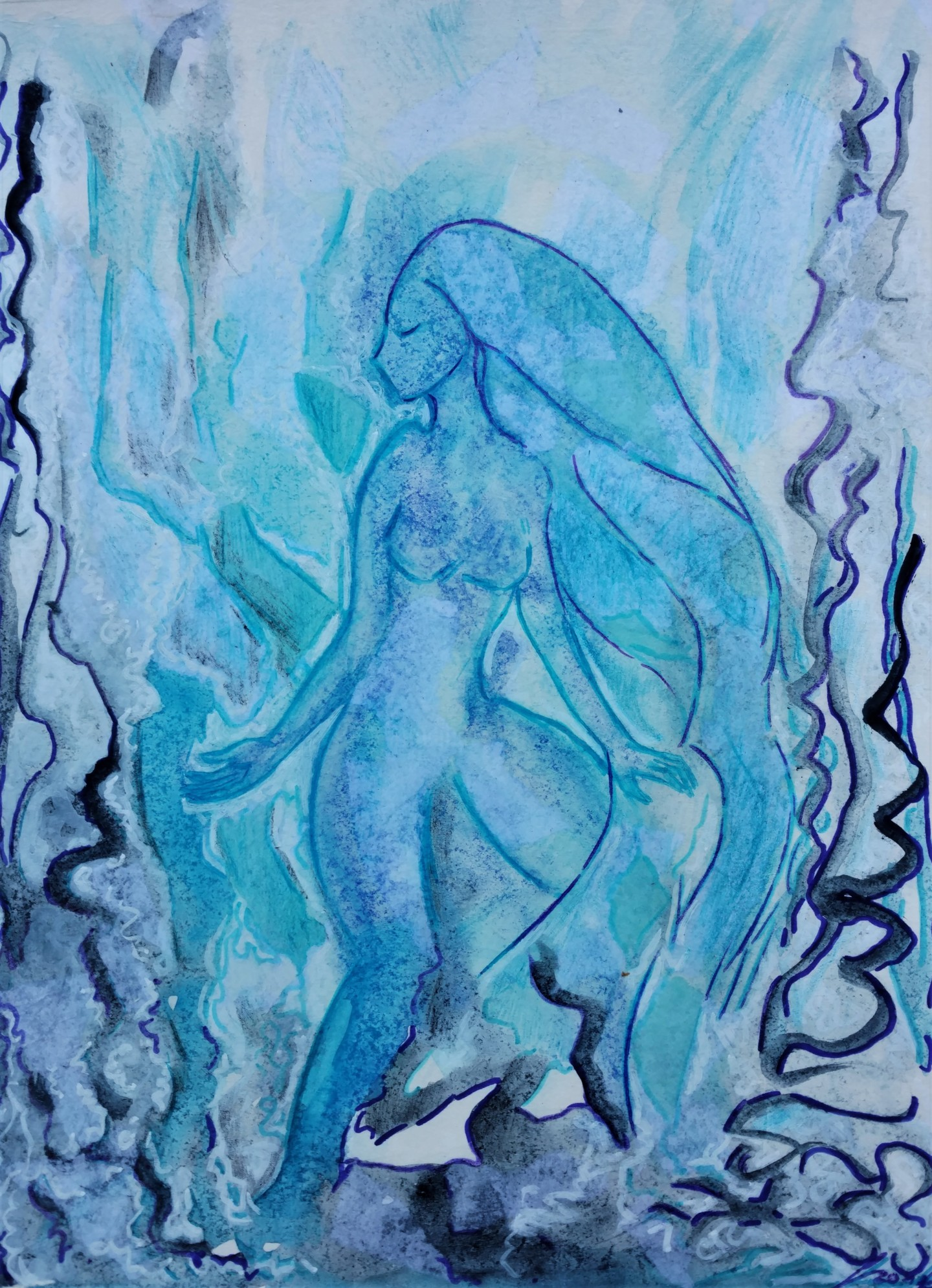 Gioia Albano - Ondine (or Wave Fairy)